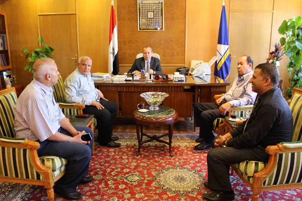 محافظ دمياط يبحث تطوير مصنع ادفينا بعزبة البرج ليستعيد مكانته السابقة كأحد الشركات الهامة لدعم الامن الغذائي في مصر